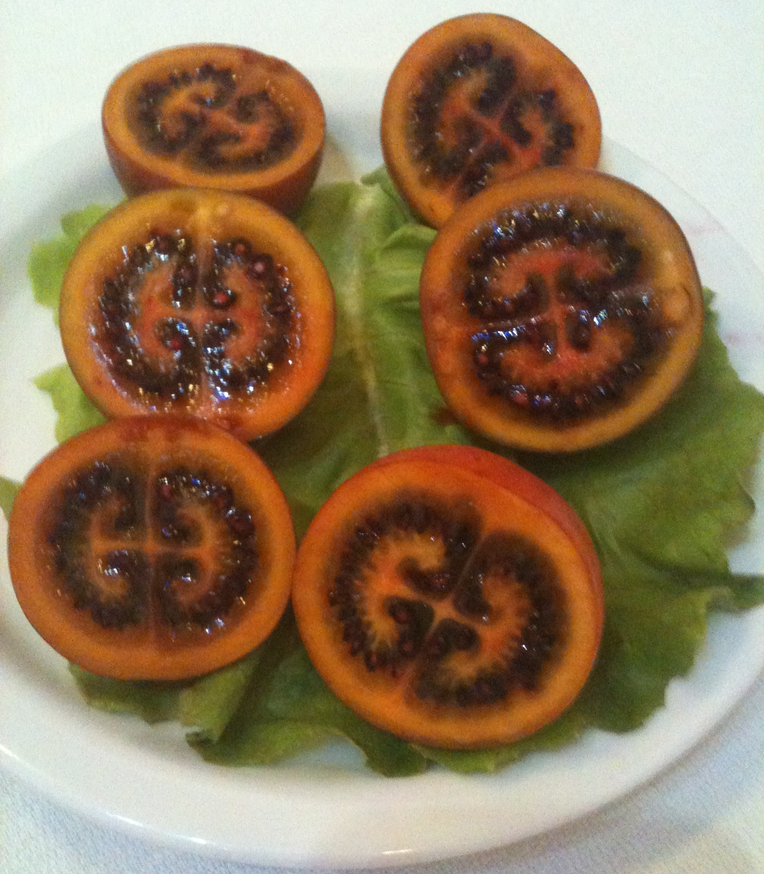 how to eat tree tomato fruit