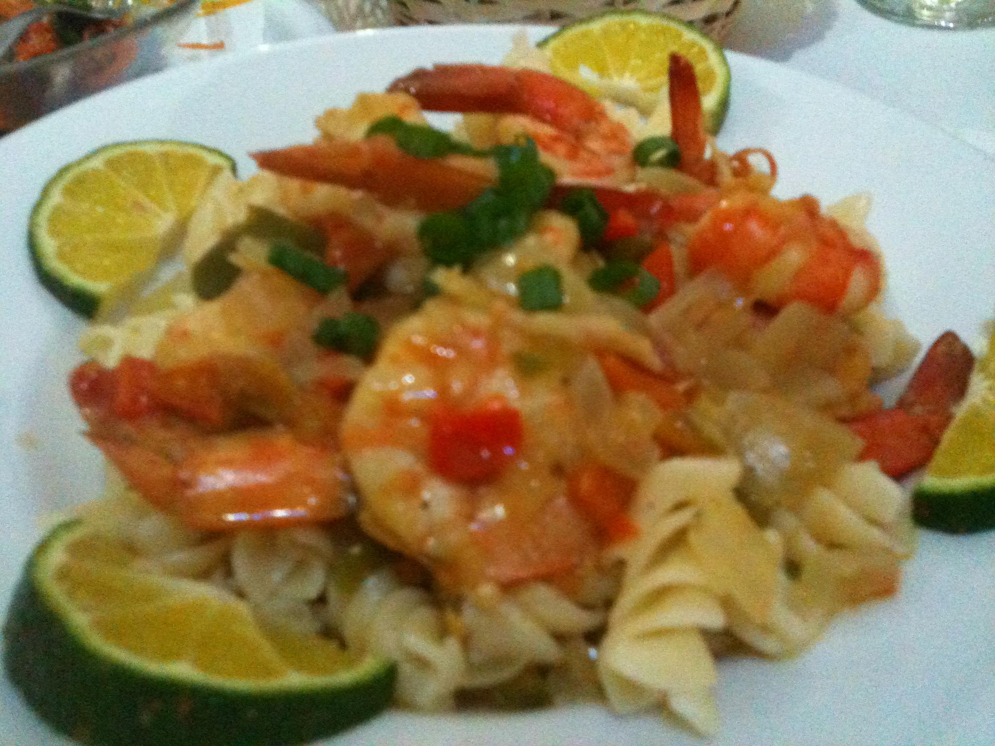 Shrimp Salad with Sour Orange