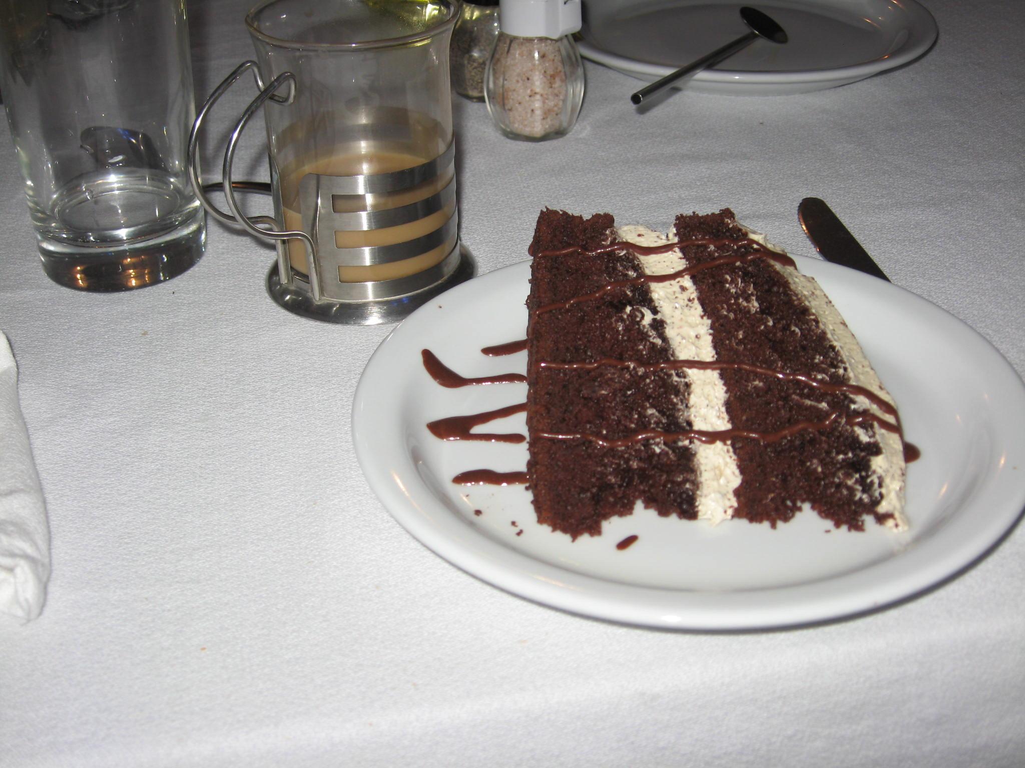 Chocolate Cake Coba